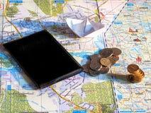 Zu Geld für Reise sparen Lizenzfreies Stockbild