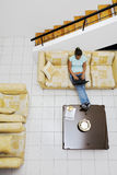 Zu Hause arbeiten Stockfoto