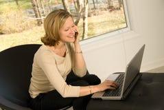 Zu Hause arbeiten Lizenzfreie Stockfotos