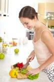 Zu Hause kochen Lizenzfreie Stockfotos