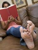 Zu Hause sich entspannen Stockfotos