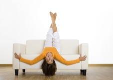 Zu Hause sich entspannen Stockbilder