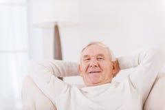Zu Hause sich entspannen Lizenzfreies Stockfoto