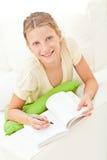 Zu Hause studieren lizenzfreies stockfoto