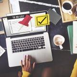 Zu Listen-Zeit-Management-Konzept tun Lizenzfreie Stockfotografie