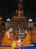 Zu Mönch werden Stockfoto