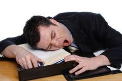Zu müde Lizenzfreie Stockbilder