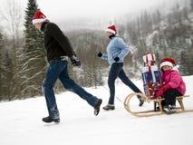 Zu rechtzeig zu Weihnachten sein Lizenzfreie Stockfotografie