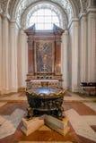 Zu Salzburg dos DOM da catedral de Salzburg na mola, Áustria fotos de stock royalty free