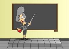 Zu unterrichtende Lehrer Lizenzfreie Stockfotos