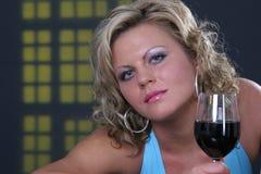Zu viel Alkohol? stockfoto