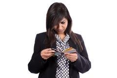 Zu viele Kreditkarten Lizenzfreie Stockfotografie