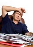 Zu viele Rechnungen zum zu zahlen Lizenzfreie Stockfotografie