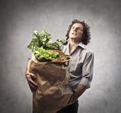 Zu vieles Gemüse Lizenzfreies Stockfoto