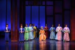 Zu was Sie erhalten Wünschengipfel von macht-modernen Drama Kaiserinnen im Palast Lizenzfreie Stockfotografie