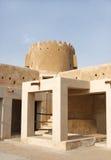 Zubarah堡垒,卡塔尔北塔  库存照片