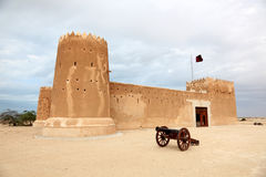 Zubarah fort in Qatar Royalty Free Stock Image
