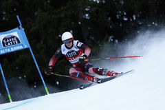 ZUBCIC Filip in Audi Fis Alpine Skiing World-Kop Men's Reuzes Royalty-vrije Stock Afbeeldingen