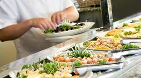 Zubereitung der Sushi Lizenzfreie Stockfotografie