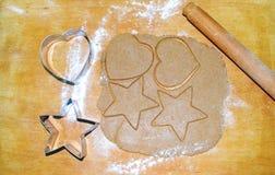 Zubereitung von Lebkuchen Lizenzfreie Stockfotografie