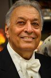 Zubin Mehta. Is an Indian conductor of Western classical music. He is the Music Director for Life of the Israel Philharmonic Orchestra and the Main Conductor Stock Photos