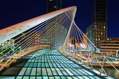 zubizuri Испании euskadi моста Стоковая Фотография RF