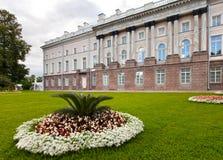 Zubov wing of the Big palace. Catherine Park. Pushkin (Tsarskoye Selo). Petersburg Stock Image