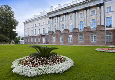 The Zubov wing of the Big palace. Catherine Park. Pushkin (Tsarskoye Selo). Petersburg Stock Photography
