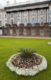 The Zubov wing of the Big palace. Catherine Park. Pushkin (Tsarskoye Selo). Petersburg Royalty Free Stock Image