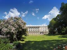 Zubov wing of the Big palace. Catherine Park. Pushkin (Tsarskoye Selo). Petersburg Royalty Free Stock Image