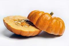 Zucca affettata Immagine Stock