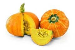Zucca arancio fresca Immagine Stock Libera da Diritti