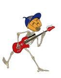 Zucca-chitarrista Immagini Stock