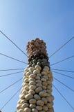 Zucca colonnare Fotografia Stock Libera da Diritti