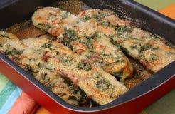 Zucca con carne e la verdura Fotografia Stock Libera da Diritti