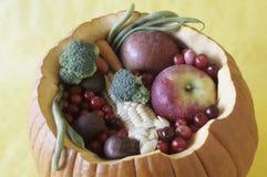 Zucca con le verdure Fotografie Stock