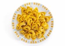 Zucca de los di de Piatto di tortelli Foto de archivo libre de regalías