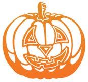 Zucca del Halloween royalty illustrazione gratis