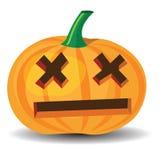 Zucca di Halloween illustrazione di stock