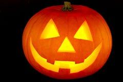 Zucca di Halloween Fotografia Stock Libera da Diritti