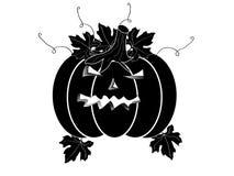 Zucca di Halloween illustrazione vettoriale