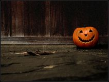 Zucca di Halloween Fotografie Stock Libere da Diritti