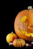 Zucca 03 di Halloween fotografia stock libera da diritti