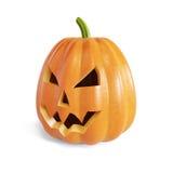 Zucca di Halloween della lanterna del Jack O Fotografia Stock