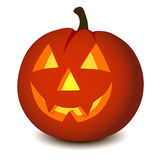 Zucca di Halloween di vettore Fotografia Stock Libera da Diritti