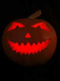 Zucca di Halloween isolata fotografie stock libere da diritti