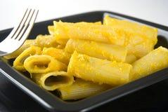 Zucca di imbroglione della pasta, pasta della zucca Immagini Stock