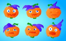Zucca divertente per Halloween Immagine Stock Libera da Diritti