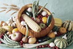 Zucca farcita verdura Immagini Stock