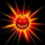zucca felice di 3D Halloween Immagini Stock Libere da Diritti